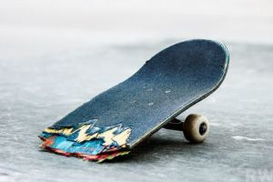 broken skate